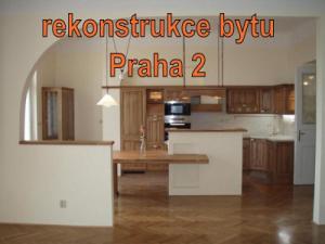 rekonstrukce byt Praha 2
